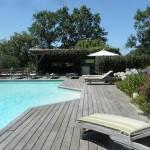 Les Volets Bleus location avec piscine à Arcangues au pays Basque