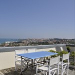 Appartement des Volets Bleus vue sur l'océan