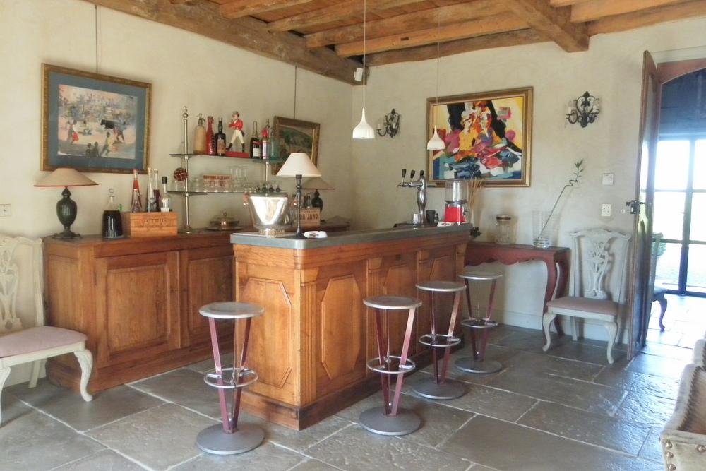 Bar maison les Volets Bleus