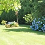 Le jardin de la chambre d'hôtes de charme des Volets Bleus, à Arcangues aux portes de Biarritz