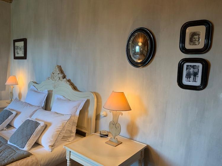 La chambre Mélisse de la chambre d'hote des Volets Bleus aux portes de Biarritz