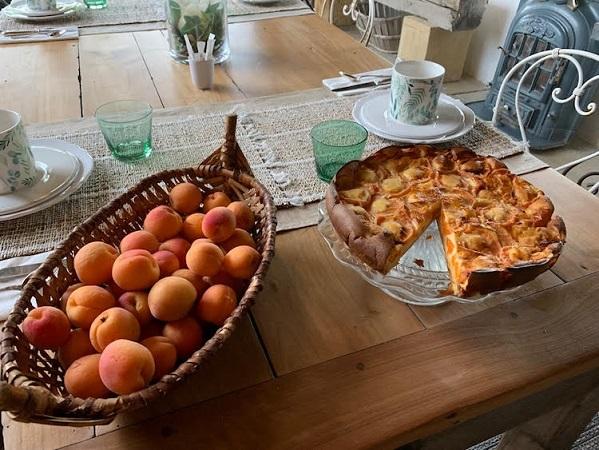 Petits déjeuners chambre dhote les Volets Bleus proche Biarritz Pays Basque