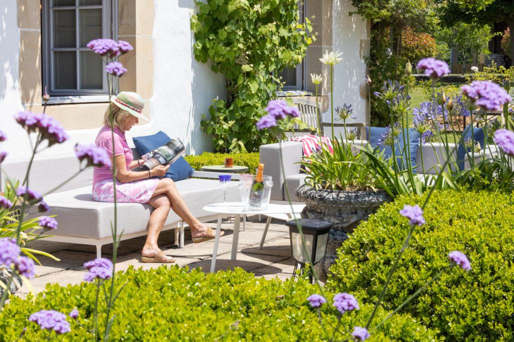 Maison de vacances Volets bleus terrasse sur jardin