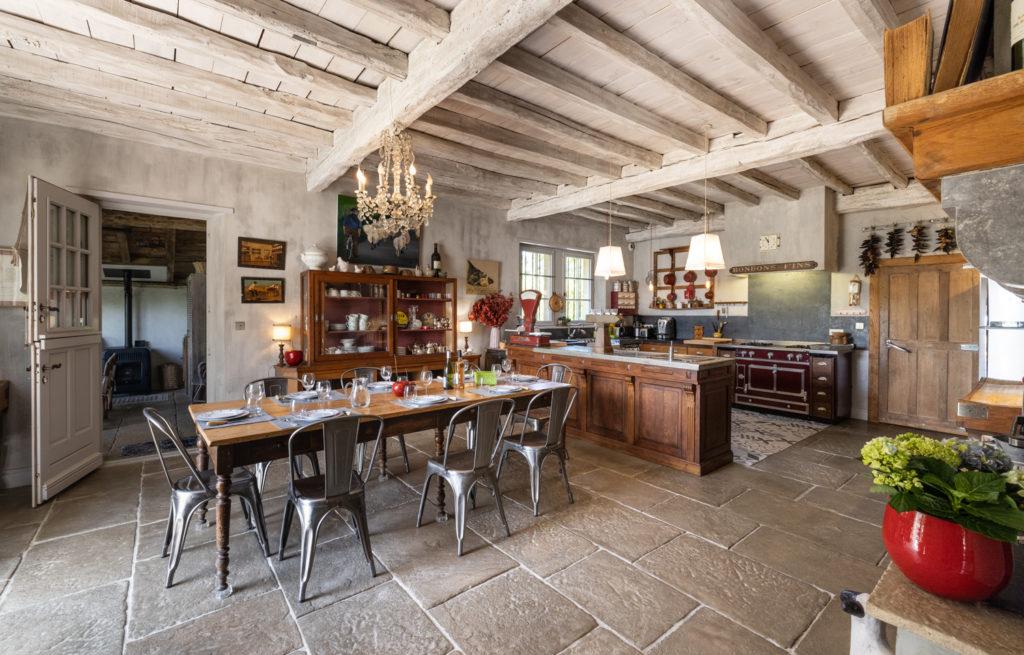 Maison de vacances Pays basque Les Volets bleus Cuisine