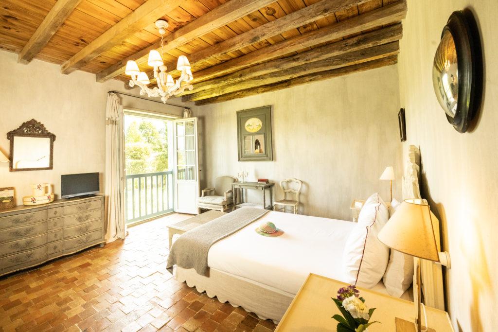 Maison de vacances Pays basque Les Volets bleus - chambre 2 personnes Mélisse