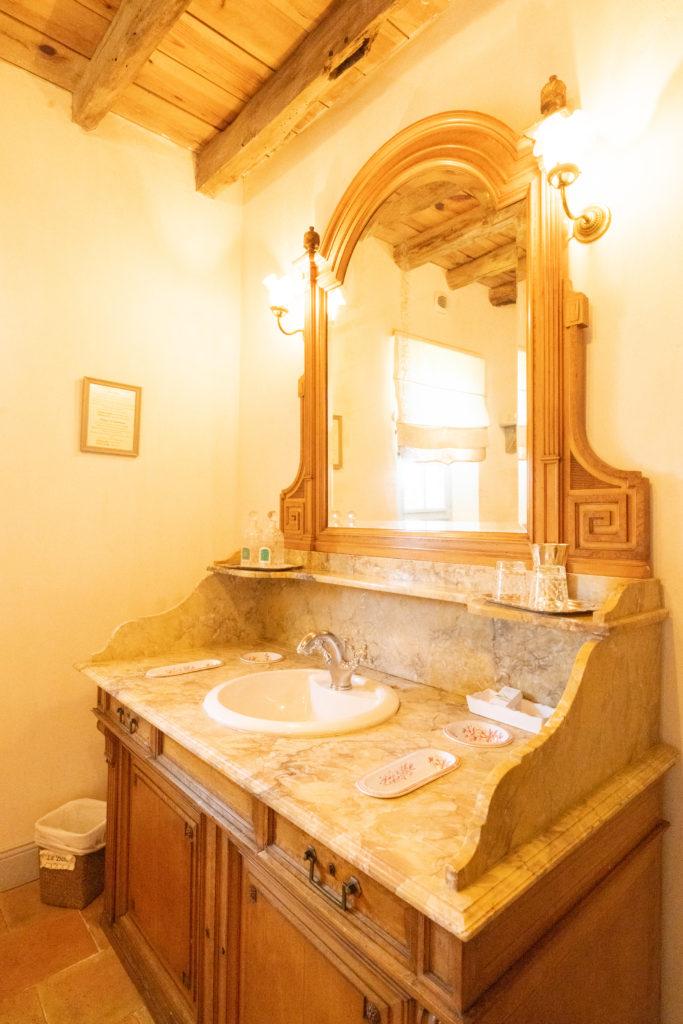 Maison de vacances Les Volets bleus - chambre Melisse Salle de bains
