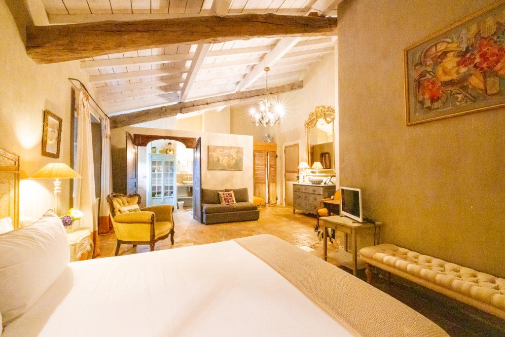 Maison de vacances au Pays basque Les Volets bleus - Chambre piment